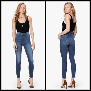 💕MOTHER💕 Looker High Waisted Ankle Fray Skinny